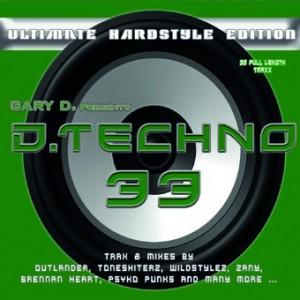 COVER DJP DTECHNO 33 FOR GARY klein
